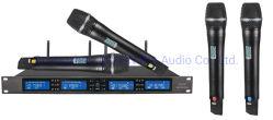 Micro sans fil UHF XLR microphone dynamique élevée du microphone du casque