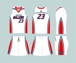 Uniformes personnalisé nouveau design cool uniformes de basket-ball
