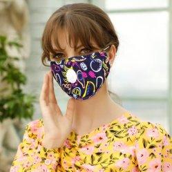 再利用可能なイヤーループコットン口マスク保護ファッションプリントフェイスマスク