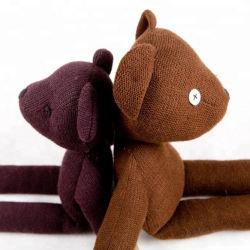 Los juguetes de peluche peluche tejido de lana de animales de punto crochet tejer Doll