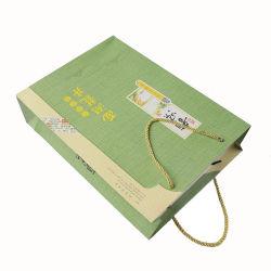 Novo Design Reciclar Eco-Friendly Fashionable Custom print saco de papel
