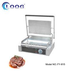 식사 장비 바베큐 옥외 석쇠 스테인리스 과자 굽는 번철 격판덮개를 가진 전기 과자 굽는 번철 팬