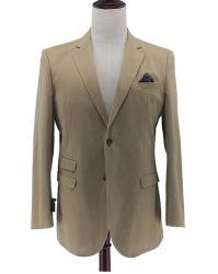 Los hombres de algodón Deporte Casual Chaqueta Chaqueta Slim Fit de 2 botones Blazer