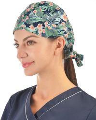 Promotion de la mode personnalisé le coton Unisex tous les jours de travail réglable capuchon de protection bouchon Scrub unisexe