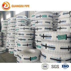 20-63mm Preto Tubo Plástico Jardim do rolo de borracha de irrigação do tubo de HDPE