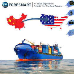 Goedkoopste zeevracht naar de VS vracht expediteur LCL FCL Shipping