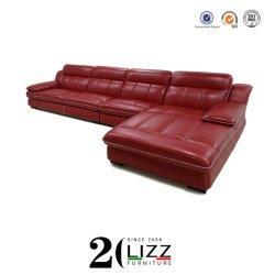 Nuevo diseño elegante y moderno mobiliario de Casa Sala de estar sofá de cuero puro