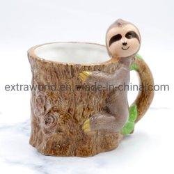 Bestseller 3D Lustige Sloth Kaffee Becher Keramik Tee Tasse Werbegeschenk für Kinder