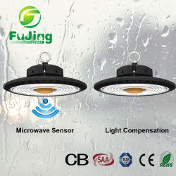 مصباح الدلاية الصناعية IP65 بقدرة 100 واط وقوة 150 واط وقوة 200 واط من جسم غامض في ارتفاع الخليج إضاءة مستودع الضوء LED