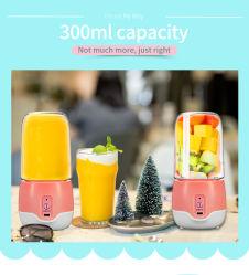 スマートな小型手の電気フルーツ野菜携帯用USBの再充電可能な混合機かJuicer