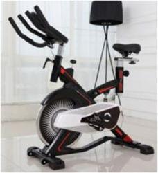 前方にバイクを回す回転のバイクの適性の体操のシートボディ鋼鉄ベルトのステンレス製の表面