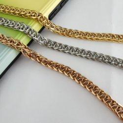 Collana Chain del Chopin dell'acciaio inossidabile per il disegno del regalo del sacchetto dei monili