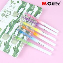 M&G Escritório amarelo/rosa/azul/laranja/verde/roxo Rolete Líquido Marcador