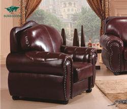 Foshan Accueil Mobilier moderne le vin rouge 1Définir la table salle de séjour canapé en cuir