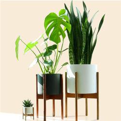 Eco Friendly réglable intérieur extérieur Bois de Bambou Pot de fleur peuplement