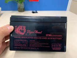12V 6 Ah 6FM6 Batterie UPS