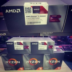 AMD Ryzen 5 3500X 3.6GHz 6 코어 6 스레드 AM4 데스크탑 CPU 프로세서