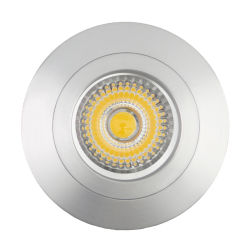 GU10 MR16 Ronde d'éclairage de plafond encastré fixe LED montage Downlight détenteur de logement (LT2106)