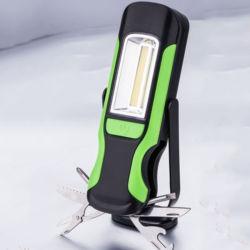 Kits de lampe de travail avec l'outil pratique Feux d'inspection magnétique torche LED haute luminosité 4 Modes de flash