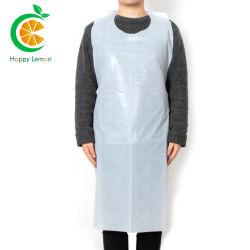 PE descartáveis de plástico de limpeza pessoal/Eco avental de plástico biodegradável