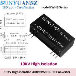電気医学の器械使用工業の専用10kv高い隔離帯電防止1Wの2W DC-DCの周波数変換装置