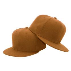 Sombrero de color blanco de alta calidad Hat Logotipo personalizado bordado impreso tapa Snapback
