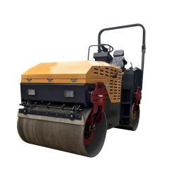 Doppia rotella vibratoria e rullo compressore idraulico pieno dell'azionamento 3ton