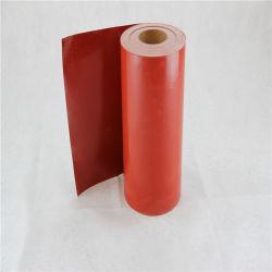 Tenda a prova di fuoco di silicone della gomma dell'isolamento a prova di fuoco resistente al fuoco del tessuto