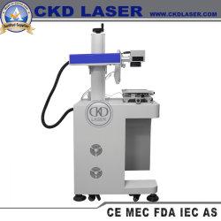 印刷USBのディスクのロゴのマークの金属のプラスチック電源のためのファイバーレーザーのマーキング機械