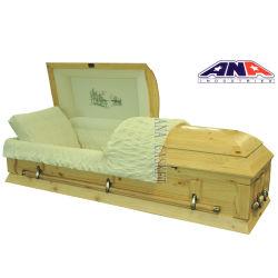 De beste BegrafenisKist en de Doodskisten van de Pijnboom van de Kwaliteit Stevige