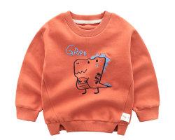 Col rond T-shirt en coton infantile des enfants Vêtements personnalisés