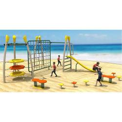 Kwaliteit kleurrijk klein Spel structuur Outdoor Playground klimmen Nets Monkey Bar