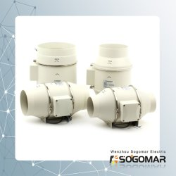 Circulação Multivelocidade ventilação exaustor tubo tubo Inline (SFP-150)