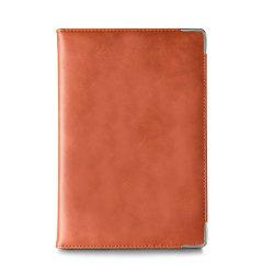 Office Metal Corner Writing Notebook Custom Prayer Leather Journal A5 Notitieblok