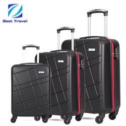 方法余暇の昇進の移動のABSパソコンの堅いシェルの軽量の小屋のトロリー旅行荷物袋を手搬送