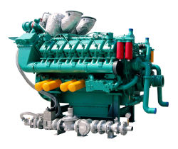 De diesel en van het Aardgas Dubbele Motor van de Brandstof