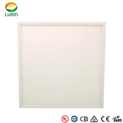 1195*295mm 595*595mm 120 Degree Lens Meanwell LED Panel Light met Automatic Emergency Device