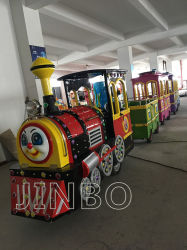2018 Hot Sale Petit Train pour la famille Trackless Train dans Mall