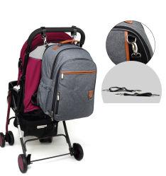 防水二重肩の屋外の余暇旅行母ミイラの赤ん坊のミイラのおむつのバックパック袋(CY3321)