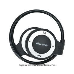 Venda por grosso de funcionamento do Desporto Desporto MP3 para o pescoço, auscultadores Bluetooth Mini auricular sem fios de Redução de ruído para desportos