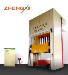 Hydraulische Pressmaschine für FRP SMC BMC GMT Wassertank Panel Mannloch Abdeckung Herstellung