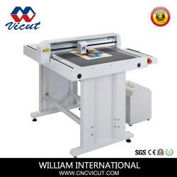 Patrón de superficie plana de la máquina cortadora de plotter de corte