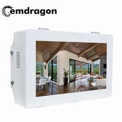 32 Inch Outdoor Wall Mount Advertising Machine Wall Mount Frames Photo Led Digitale Signage Kaart Anti Glare Tv Kiosk Netwerk Muurmontage Indoor Lcd Reclame