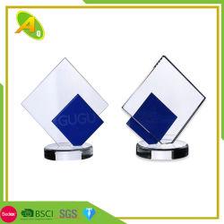 China-Fabrik-kundenspezifische Kristallmetalltrophäe für Sport (097)