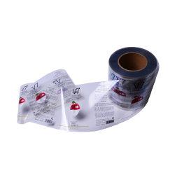China-Lieferanten-Wasser-imprägniern beständige Vinylaufkleber Druck-Kennsatz für private Haut-Sorgfalt