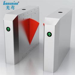 En acier inoxydable de volet de sécurité barrière escamotable avec contrôle d'accès intelligent