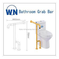 Badezimmer-Griff ABS Sicherheits-Toiletten-Armlehnen-Beispielerhältliches Qualitäts-Schwingen herauf Zupacken-Stab für Badewanne Wn-21