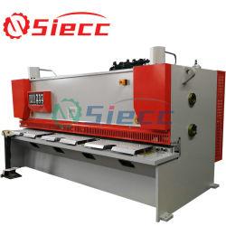 QC12y-4X2500 fournisseurs chinois de pivotement de la machine de cisaillement du faisceau de la plaque en acier