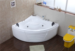 Foshan Factory de nouveaux produits sanitaires ou hygiéniques acrylique baignoire de massage 9072#