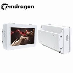 شاشة العرض الأفقية المبردة من قبل OEM شاشة العرض الخلفية معلقة في الخارج آلة الإعلان في الهواء الطلق 21.5 بوصة Power Player Quality Inch Android Digital Signage Board LED